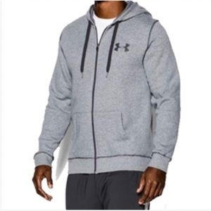 Like new! Under Armour Full Zip Jacket